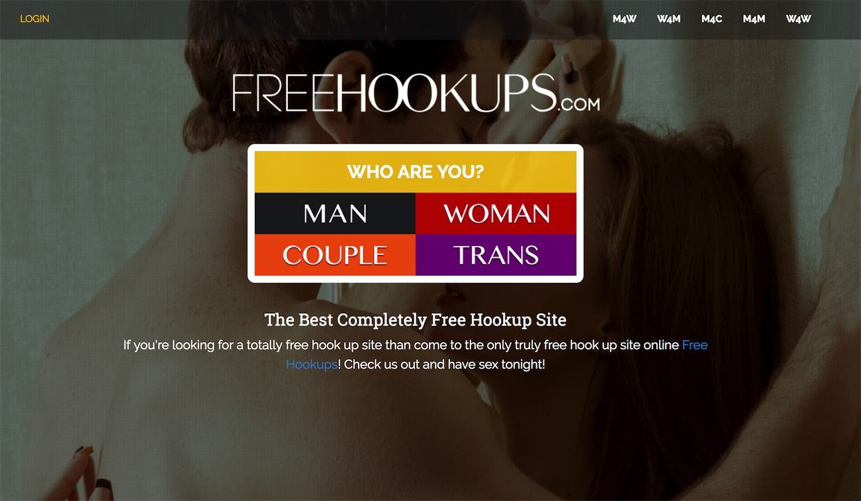 Completely free sex hook up site