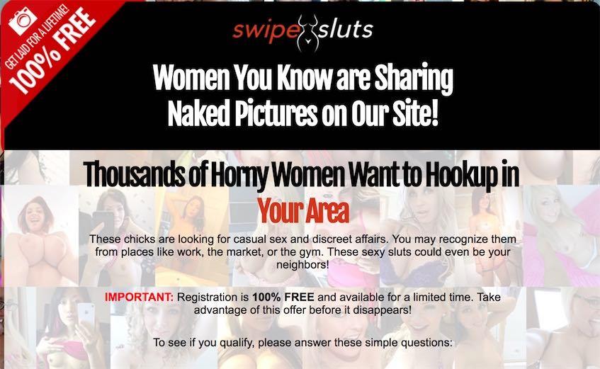 Swipe sluts